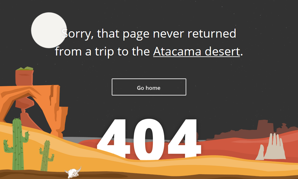 Best 404 pages: Sygic